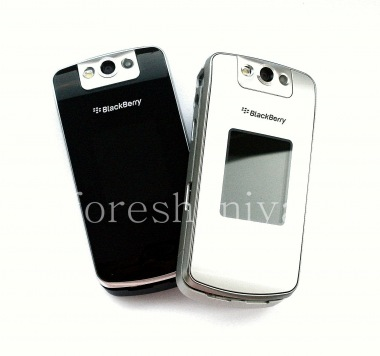 Buy External and internal LCD screens in the assembly with the middle part of housing for BlackBerry 8220/8230 Pearl Flip