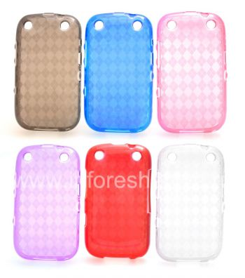 Etui en silicone Case Candy emballé pour BlackBerry Curve 9320/9220