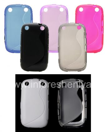 Silicone Case for compact Streamline BlackBerry 9320/9220 Curve