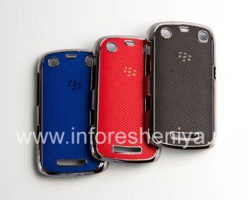 Plastik tas-cover dengan insert timbul untuk BlackBerry 9360 / 9370 Curve
