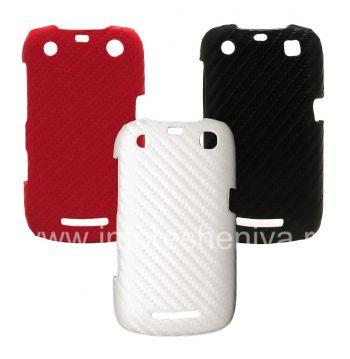 """La bolsa de plástico-cap """"Carbono"""" para BlackBerry Curve 9360/9370"""