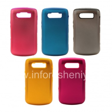Buy Silicone Case with Aluminum Case for BlackBerry 9700/9780 Bold