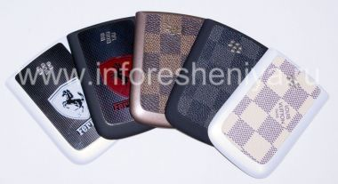 Buy The back cover of various colors for the BlackBerry 9800/9810 Torch