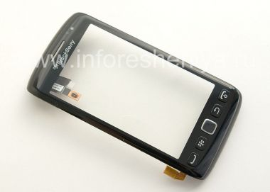 Buy Touch-screen (Touchscreen) in the assembly with the front panel for BlackBerry 9850/9860 Torch