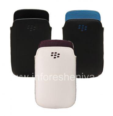 Buy Original-Leder-Kasten-Tasche Ledertasche Tasche für Blackberry Curve 9360/9370