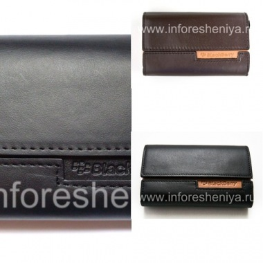 Buy Original Leather Case Bag Leather Folio for BlackBerry