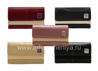 Buy Original Leather Case Bag with a metal tag Leather Folio for BlackBerry