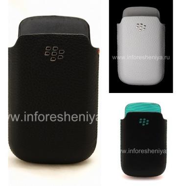 Buy Original Leather Case-pocket with metal logo Leather Pocket for BlackBerry 9700/9780 Bold