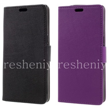 "Buy Leather case horizontally opening ""Relief"" for BlackBerry KEYone"