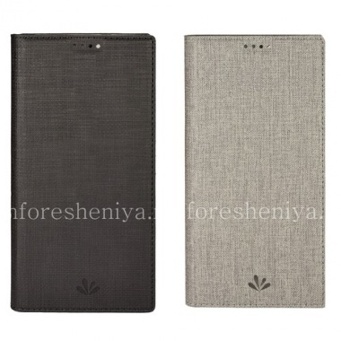 Buy Leather case horizontally opening Vili Folio for BlackBerry KEYone