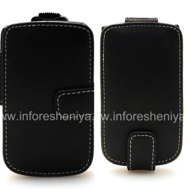 Buy Signature Leather Case handmade Monaco Flip / Book Type Leather Case for BlackBerry 9800/9810 Torch