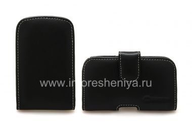 Buy Signature Leather Case-pocket handmade clip Monaco Vertical / Horisontal Pouch Type Leather Case for BlackBerry 9900/9930 Bold Touch