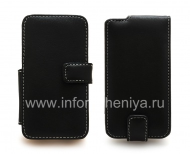 Buy Signature Leather Case handmade Monaco Flip / Book Type Leather Case for the BlackBerry Z10