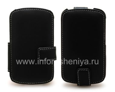 Buy Signature Leather Case handmade Monaco Flip / Book Type Leather Case for the BlackBerry Q10