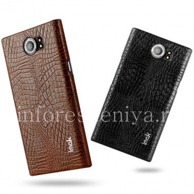 Buy Firm plastic cover, cover for IMAK Crocodile BlackBerry Priv
