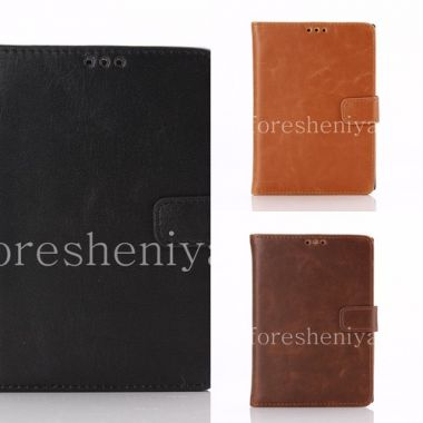 Buy Horizontal Leather Case with opening function supports for BlackBerry Passport