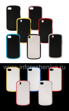 "Buy Silicone Case compact ""Cube"" for BlackBerry Q10"