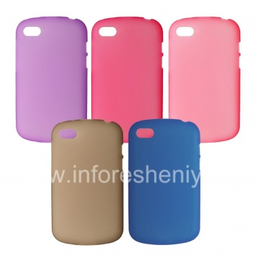 Buy Silicone Case compacted mat for BlackBerry Q10