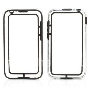 Silicone Case-bumper seals for BlackBerry Q5 (translucent)
