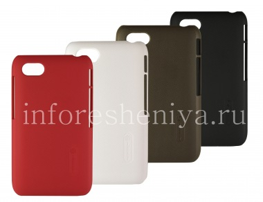 Buy Corporate plastic cover, cover Nillkin Frosted Shield for BlackBerry Q5