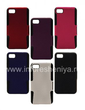 Buy rugged perforated cover for BlackBerry Z10