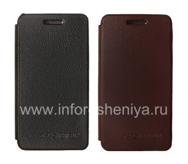 Buy Signature Leather Case horizontal opening DiscoveryBuy for BlackBerry Z10