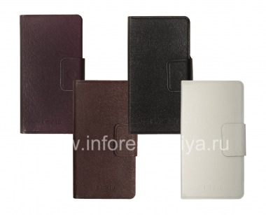 Buy Horizontal Leather Case with opening function supports for BlackBerry Z10