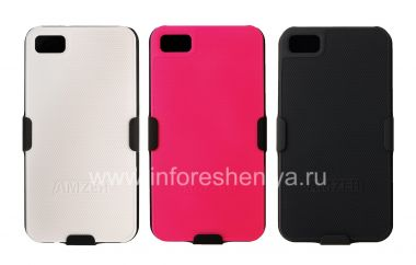 Buy Corporate plastic cover, cover, complete with holster Amzer Shellster ShellCase w / Holster for the BlackBerry Z10
