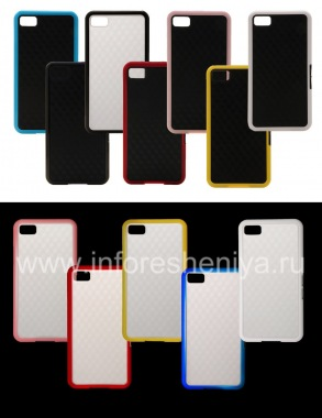 """Buy Silicone Case compact """"Cube"""" for BlackBerry Z10"""
