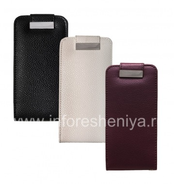 Buy Leather Case with vertical opening cover for BlackBerry Z10