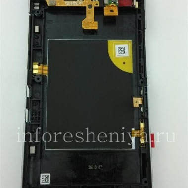 Buy The middle part of the original body in the assembly with the rim for the BlackBerry Z30
