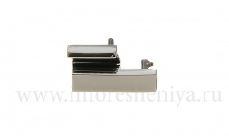 Latch the battery cover (Battery clip) for BlackBerry 8100/8110/8120 Pearl, Metallic
