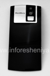 Original back cover for BlackBerry 8100 Pearl, The black