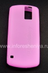 Photo 1 — Funda de silicona original para BlackBerry 8100 Pearl, Pink (Magenta)