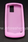 Photo 2 — Funda de silicona original para BlackBerry 8100 Pearl, Pink (Magenta)