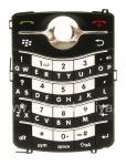 لوحة المفاتيح الإنجليزية الأصلي لبلاك بيري 8220 Pearl فليب, أسود