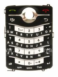 The original English Keyboard for BlackBerry 8220 Pearl Flip, The black