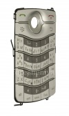 Photo 3 — Russian Keyboard for BlackBerry 8220 Pearl Flip (engraving), Silver