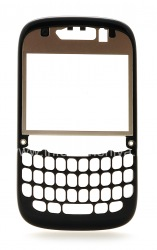 The original circle without the operator logo mount for BlackBerry Curve 9220, The black