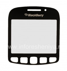 The original glass screen for BlackBerry 9220 Curve, The black