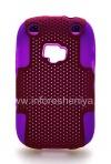 Photo 1 — 坚固的穿孔盖BlackBerry 9320 / 9220曲线, 丁香/紫红色