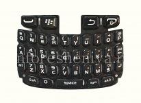 ブラックベリー9320/9220曲線のためのオリジナルの英語キーボード, ブラック