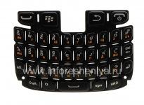 ブラックベリー9320/9220曲線のためのロシア語のキーボード, ブラック(黒)