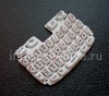 Photo 3 — Keyboard Rusia BlackBerry 9320 / 9220 Curve (ukiran), putih