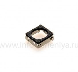 Fastening chamber BlackBerry 9360 / 9370 Curve, metallic