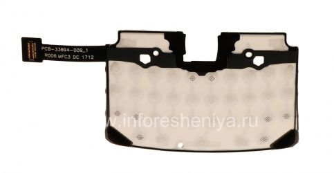 Chip keyboard for BlackBerry 9360/9370 Curve, The black