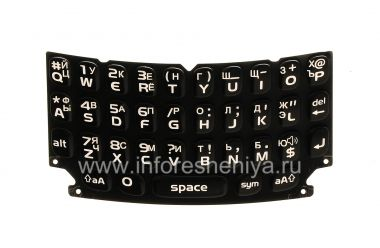 Buy Russian Keyboard for BlackBerry 9360/9370 Curve (engraving)