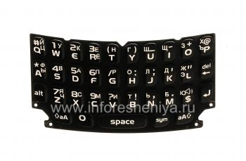 Russian Keyboard for BlackBerry 9360/9370 Curve (engraving)
