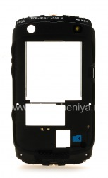 The middle part of the original case for the BlackBerry 9360/9370 Curve, The black