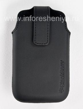 Buy Das Original Ledertasche mit Clip Leather Swivel Holster für Blackberry 9360/9370 Curve